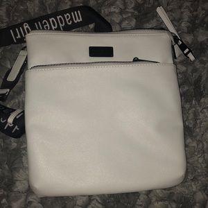 Madden Girl Bags - White Steve Madden Cross-Body Purse